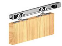 Комплект системы для раздвижных дверей Herkules 120 направляющая 1800 mm Valcomp