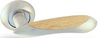 Дверная ручка на раздельной розе H-0534 S/Beech Apecs