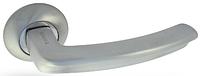 Дверная ручка на раздельной розе H-0593-A S Apecs