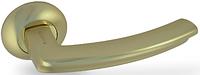 Дверная ручка на раздельной розе H-0593-A GM Apecs