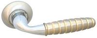 Дверная ручка на раздельной розе H-0546 S/CR Apecs