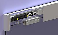Комплект системы для стеклянных раздвижных дверей Herkules Glass направляющая 2000 mm Valcomp