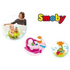 Стульчик для купания Жабка Cotoons Smoby 110604_ROZ