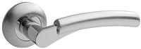 Дверная ручка на раздельной розе H-0521-S/CR Apecs