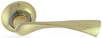 Дверная ручка на раздельной розе H-0523 G  Apecs