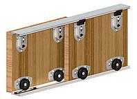 Прямолинейная раздвижная система для шкафа купе Herkules Ares 2 Valcomp