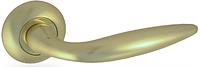 Дверная ручка на раздельной розе H-0548 GM Apecs