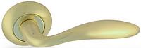 Дверная ручка на раздельной розе Note H-0557 GM матовое золото Apecs