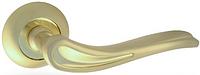Дверная ручка на раздельной розе Wave H-0564 GM/G Apecs