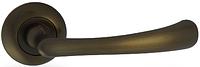 Дверная ручка на раздельной розе H-0569 CF кофе Apecs