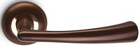 Дверная ручка на раздельной розе H-0569-Z DC тёмная медь Apecs