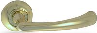 Дверная ручка на раздельной розе H-0569 G золото Apecs