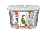 Полнорационный корм для волнистых попугаев ведро ЛолоПетс 3л 2.4 кг