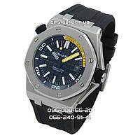 Часы Audemars Piguet Royal Oak Offshore Diver silver/yellow Mix. Класс: AAA