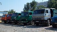 Грузоперевозки самосвалами Камаз до 15 тонн (10 куб. м.), услуги самосвалов, аренда самосвала Одесса