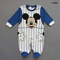 Человечек Mickey Mouse для мальчика. 62, 68 см