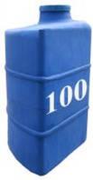 Емкость вертикальная угловая 100 литров