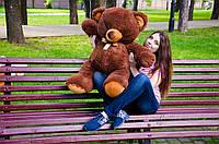 Плюшевый мишка Томми размер 100см ТМ My Best Friend (Украина)  много расцветок шоколадный