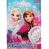 """Раскраска А4 """"Frozen"""", 12 стр 740648"""