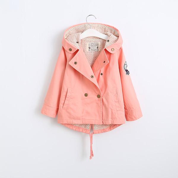 Детская курточка-пальто