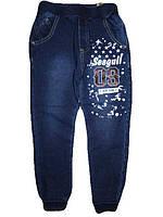 Спортивные штаны под джинс для мальчиков, Seagull, размер 122, арт. CSQ-89022