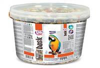 Полнорационный корм для крупных попугаев ведро ЛолоПетс 1.5 кг