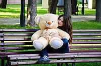 Плюшевый мишка Томми размер 100см ТМ My Best Friend (Украина)  много расцветок медовый
