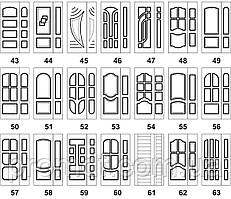 Накладки на меллические двері МДФ 10 мм
