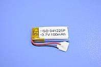 Аккумулятор Li-Ion 041225P 100 mAh 3.7V