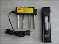 TDS метр ( солемер)+ электролизер (определитель качества воды)
