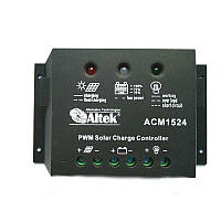 Контролер заряду ALTEK ACM1524 15А для сонячних фотомодулів