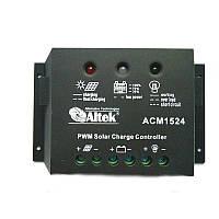 Контролер заряду Juta ACM1524 15А для сонячних фотомодулів