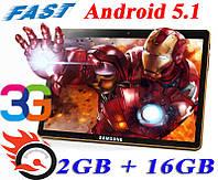 Игровой! Планшет-Телефон Galaxy Tab 10 KT961 2GB + 16GB 3G GPS Android 5