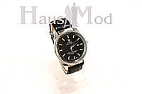Мужские часы Часы  ROLEX черные в стальном корпусе (копия)