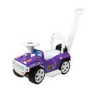 """Машинка-каталка """"Ориончик"""" с ручкой, фиолетовая, ТМ Орион, 856ФИОЛЕТ"""