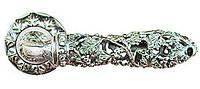 Дверная ручка на раздельной розе RO202W11 античное серебро RDA