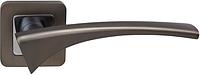 Дверная ручка на раздельной розе Como Z-40 хром/титан RDA