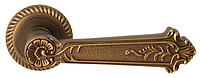 Дверная ручка на раздельной розе Firenze Plaza 21 матовый кофе RDA