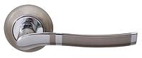 Дверная ручка на раздельной розе Rio Z-59 хром/матовый никель RDA