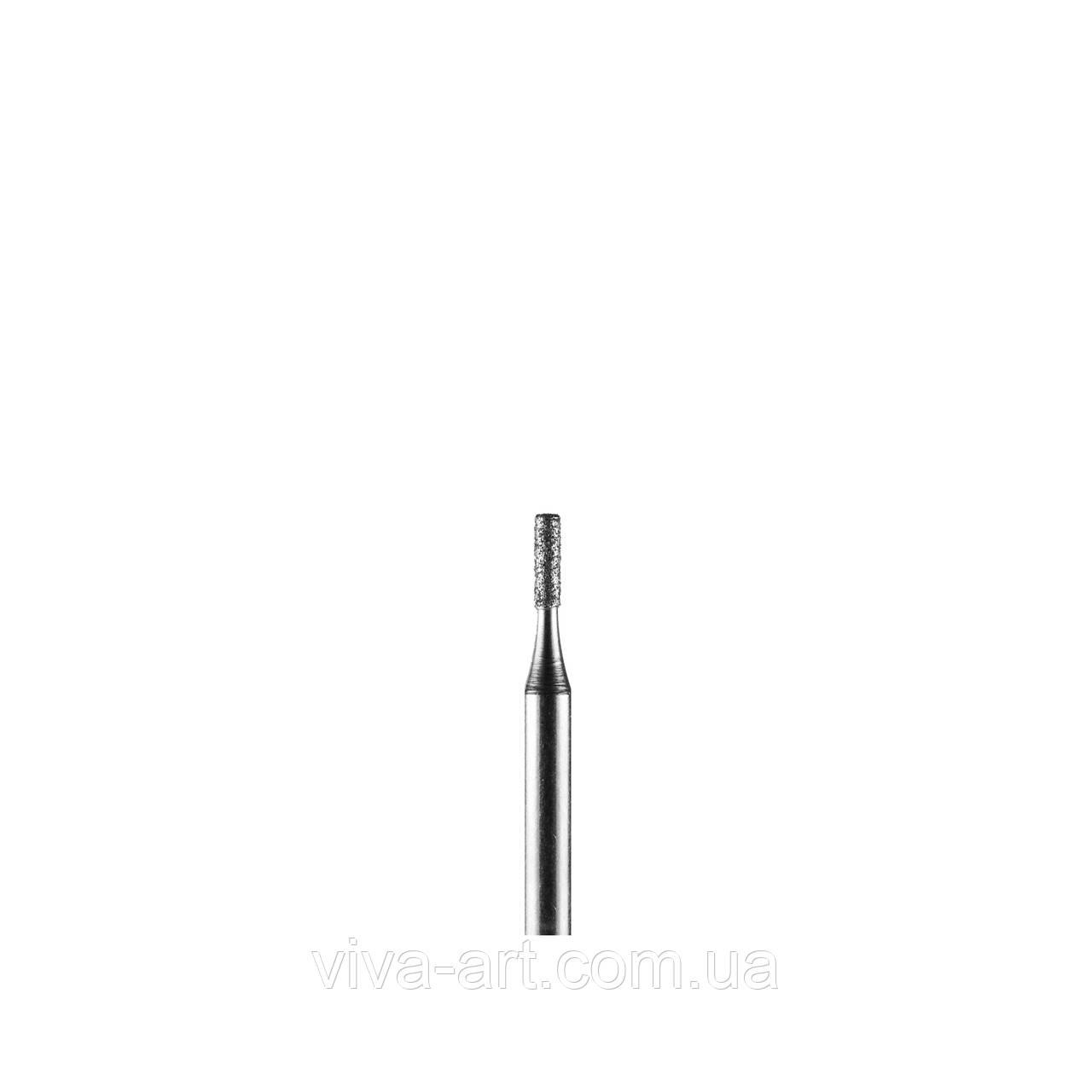 Алмазна насадка циліндр, 1.2 мм, середній абразив, Diaswiss (Швейцарія)