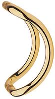 Дверная ручка скоба Ergo 325-25/250 полированная латунь Abloy