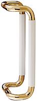 Дверная ручка скоба Parlament 220 полированная латунь Abloy