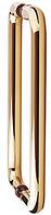 Дверная ручка скоба Presto 137 полированная латунь Abloy