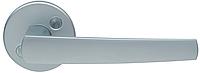Дверная ручка на раздельной розе Polarita 16/001 матовый хром Abloy