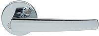 Дверная ручка на раздельной розе Polarita 16/001 хром Abloy
