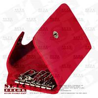 Ключница карманная красная