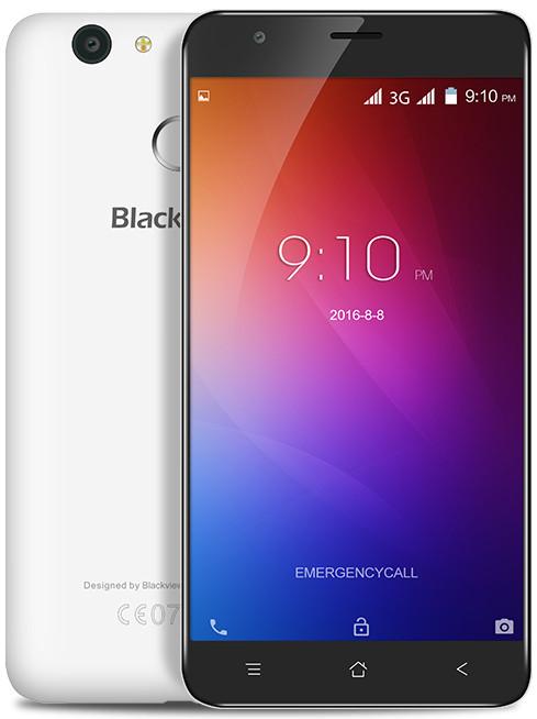 Сенсорный мобильный телефон Blackview E7s Pearl White