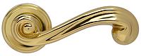 Дверная ручка на раздельной розе Carlotta OLV хром Mariani