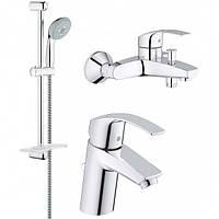 Акционный комплект для ванны Eurosmart, 123238, Grohe (Германия)