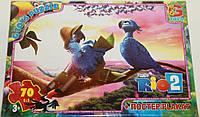 Пазли ТМ G-Toys із серії Ріо 2, 70 елементів RI003